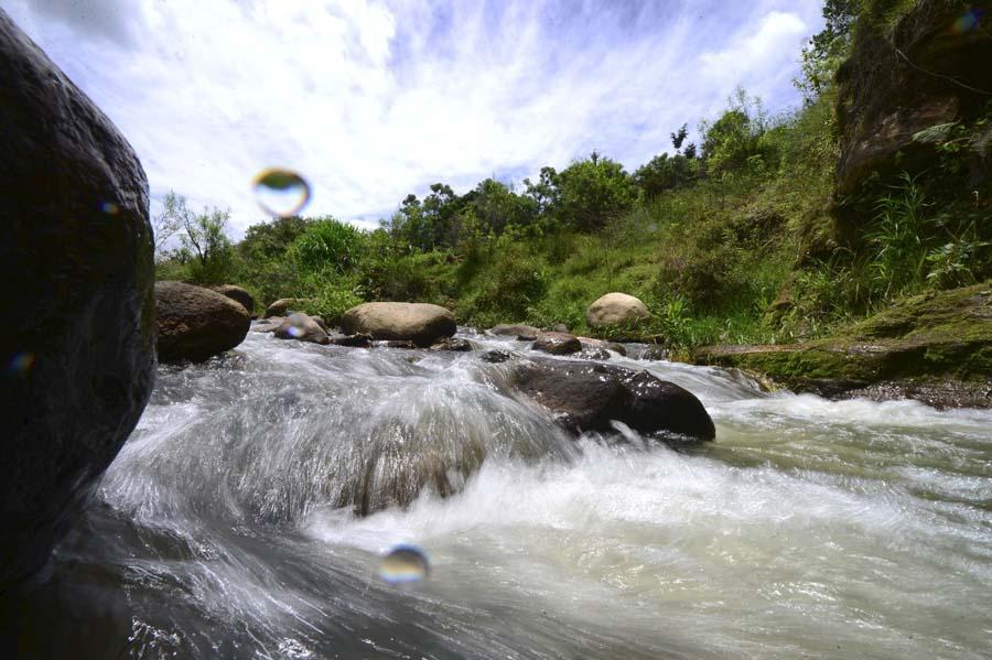 Río Sumpul en Chalatenango