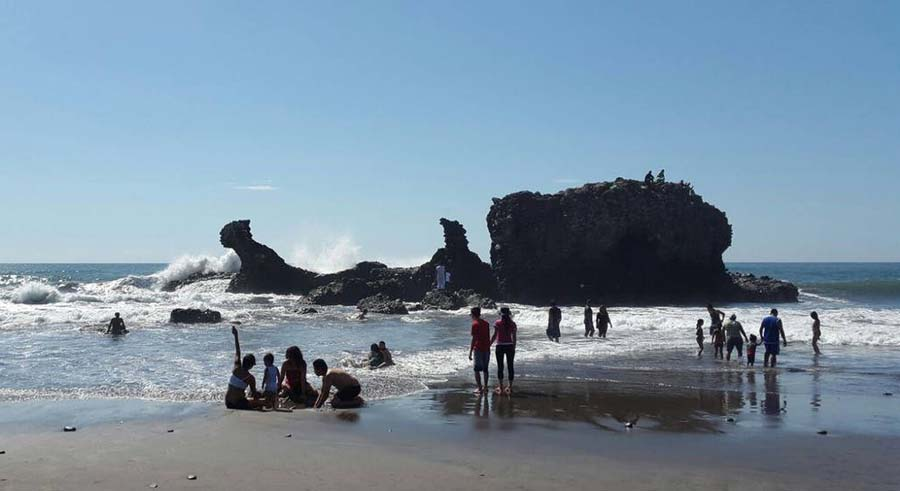 Playa el Tunco