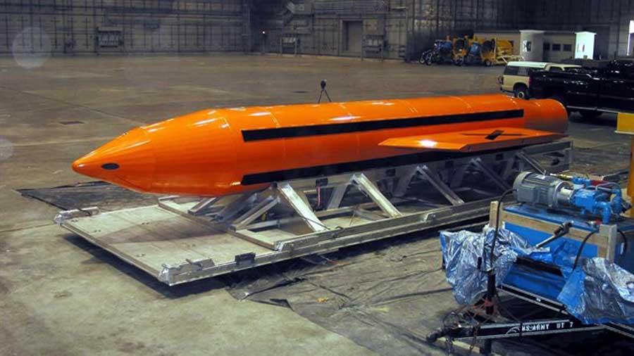 Lanzó en Afganistán la bomba no nuclear más poderosa del mundo