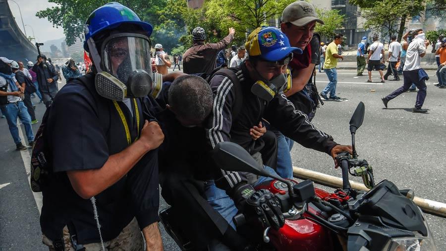 Herido Venezuela