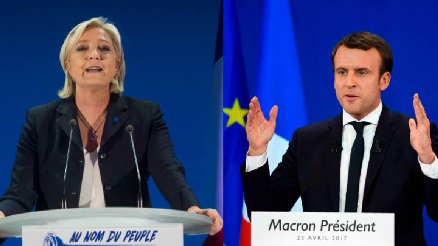¿Puede Le Pen ganarle a Macron en segunda vuelta?