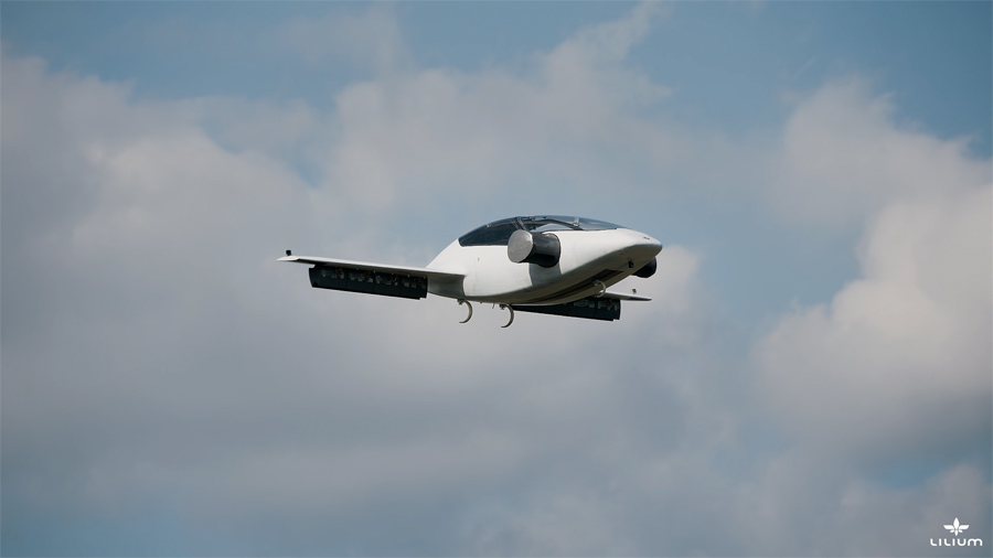 Vehículo aéreo Lilium