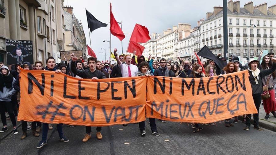 PManifestaciones contra Trump en Londres