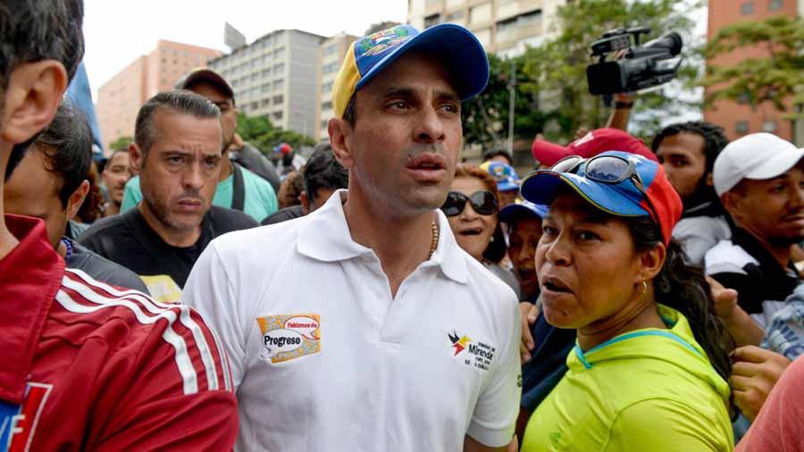 Supremo ordena a Capriles evitar bloqueos en protestas o irá a prisión