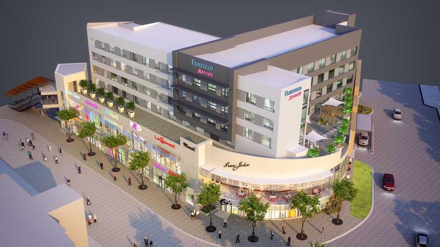 El hotel fairfield en la gran v a inicia operaciones en for Gran via el salvador