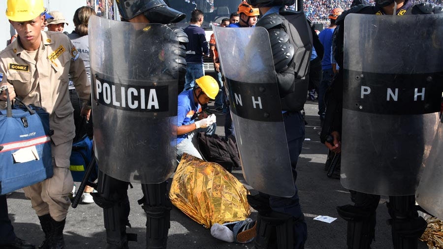Estampida Honduras