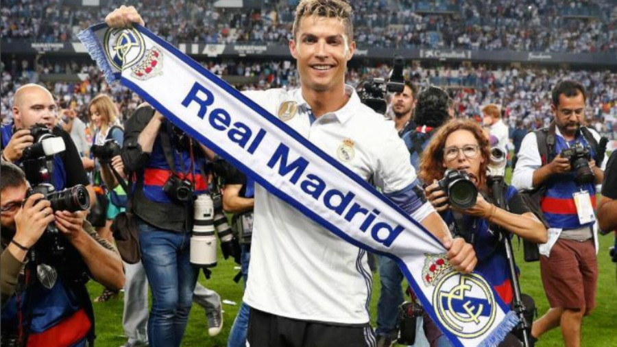 El hijo de Cristiano Ronaldo realiza un impresionante gol de tiro libre