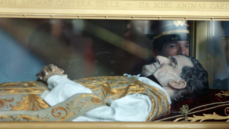 Roban la reliquia de Don Bosco en templo italiano