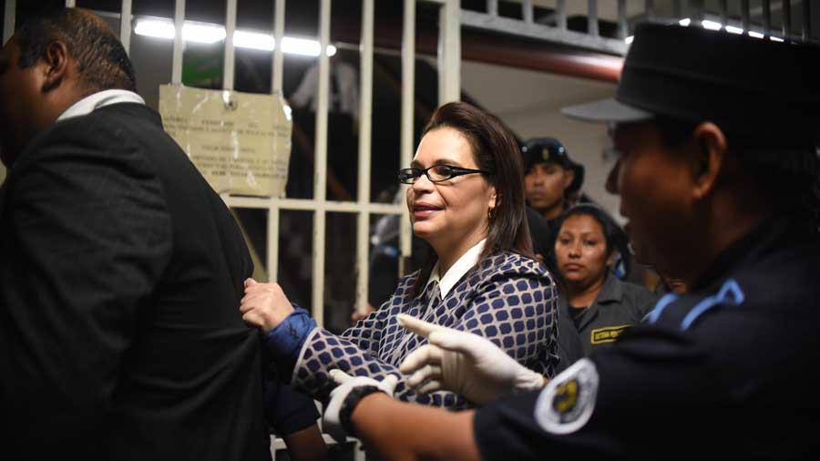 Solicita extradición de exvicepresidenta guatemalteca