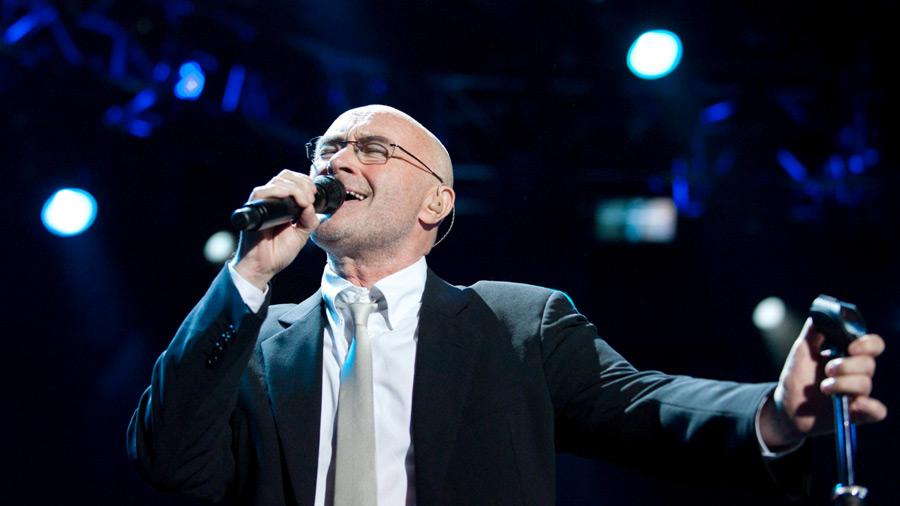 El cantante Phil Collins hospitalizado tras sufrir una caída en su hotel