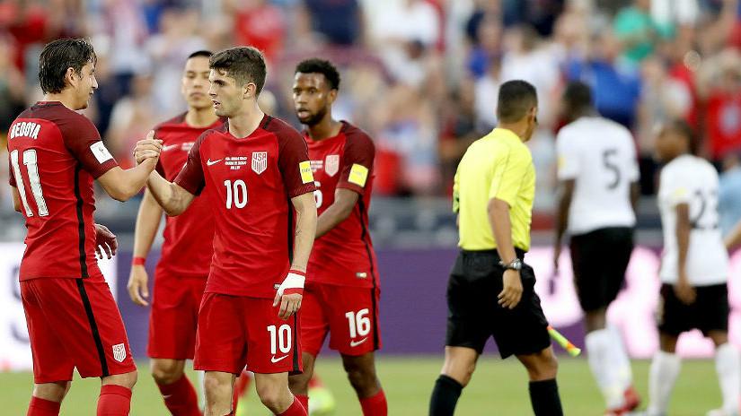 Con 2 de Pulisic, EEUU vence a Trinidad en eliminatoria