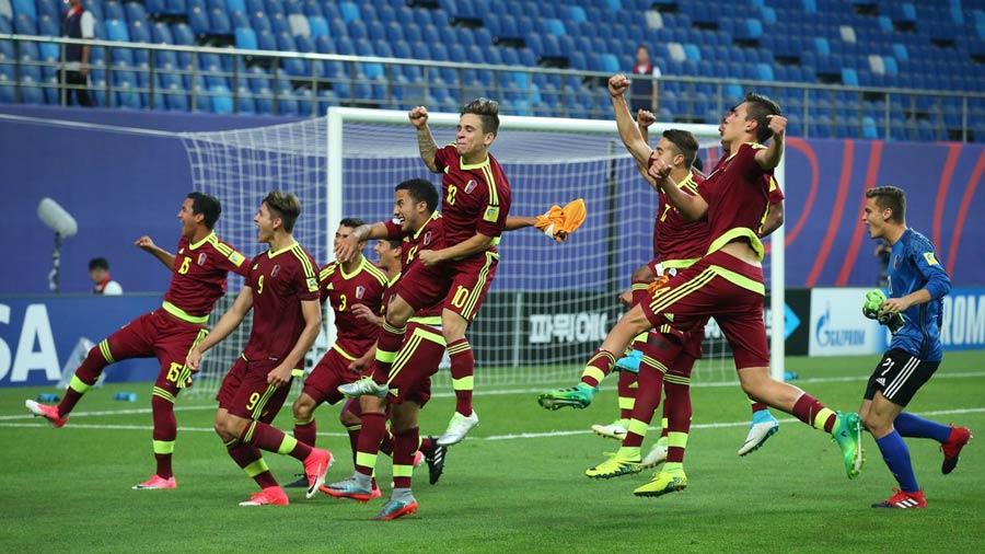 597450c0ee9ac Jugadores de Venezuela y Uruguay se pelearon antes de la final del mundial  Sub-20