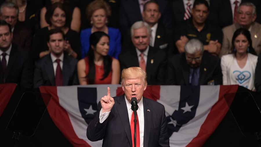 Trump revirtió política con Cuba para acabar la represión