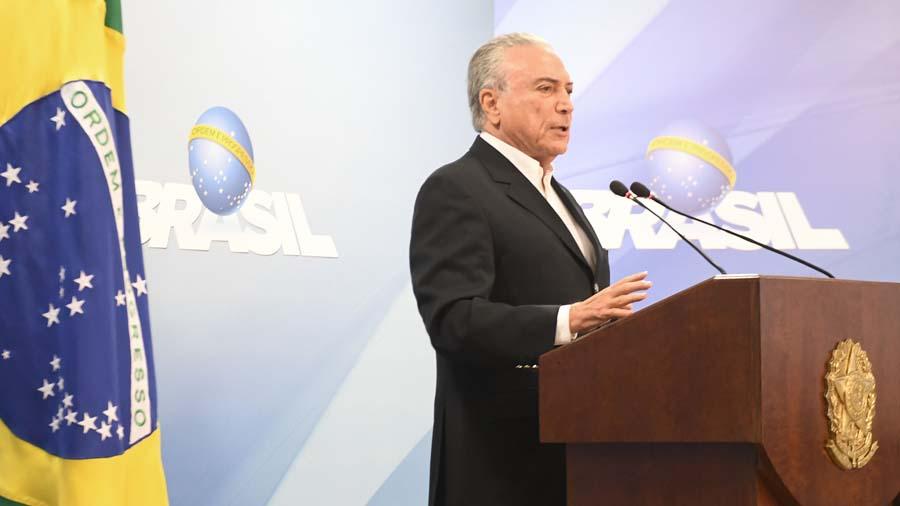 Brasil: Acusan de corrupción al presidente Temer