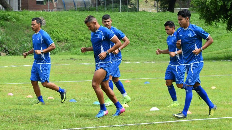 Preparacion para Copa Oro 2017. Entreno-Selecta-270617
