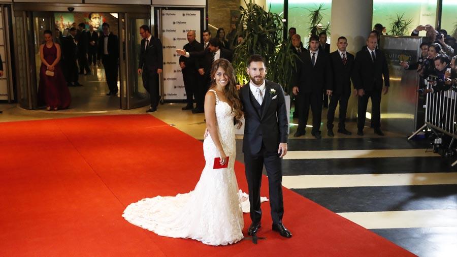 Matrimonio De Messi : Imágenes de la boda messi y antonella roccuzzo