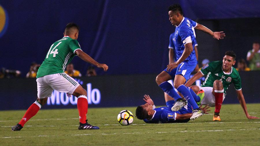 Copa Oro 2017: El Salvador 1 Mexico 3. El-Salvador-Me%CC%81xico_12