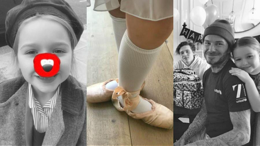 Critican a Victoria Beckham por esta foto con su hija