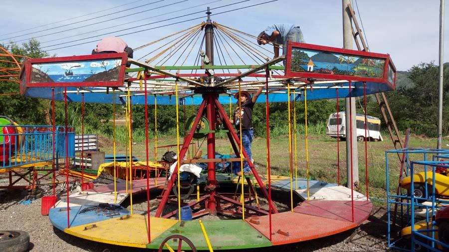 Los Juegos Mecanicos Y La Feria Ganadera Llegan A Santa Ana