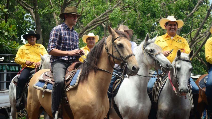Carlos Callejas Feria Ganadera de Santa Ana