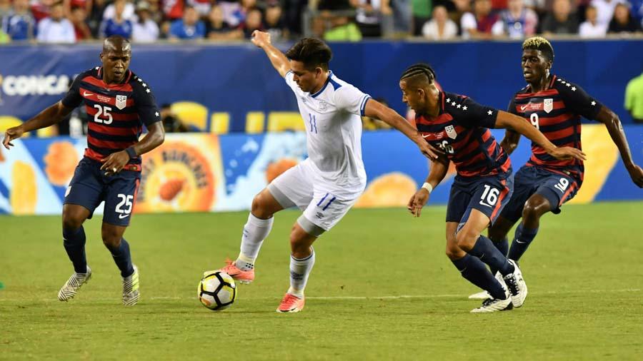 Copa Oro 2017: El Salvador 0 Los Estados Unidos 2. 000_QR5VS
