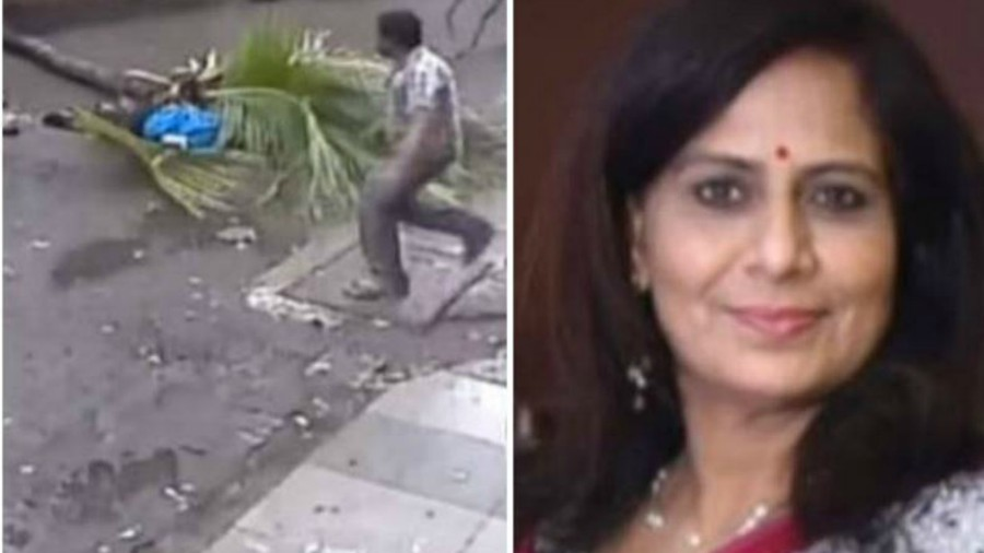 Famosa presentadora de TV murió al ser aplastada por una palmera