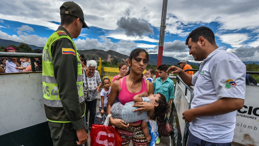 COLOMBIA-VENEZUELA-MIGRATION