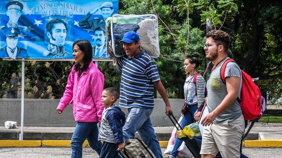 VENEZUELA-COLOMBIA-MIGRATION