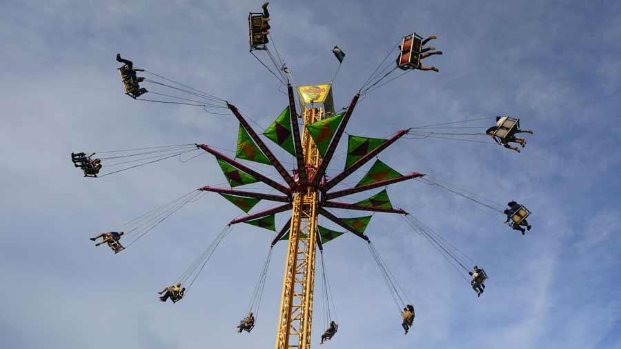 Diversion Y Ricos Platillos En El Campo De La Feria Agostina