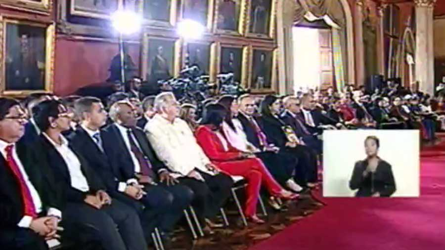 Iniciará hoy sus sesiones la Asamblea Nacional Constituyente de Venezuela