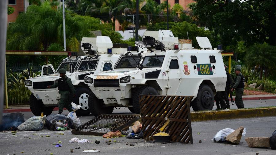 Repelen ataque a base militar en Venezuela