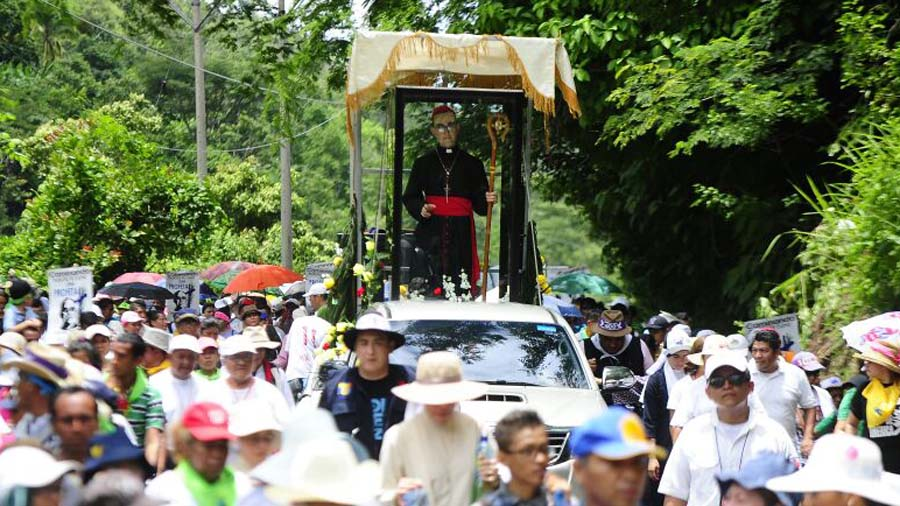Peregrinación Monseñor Romero