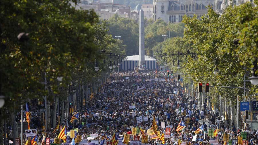 Felipe VI y Mariano Rajoy fueron pitados en Barcelona