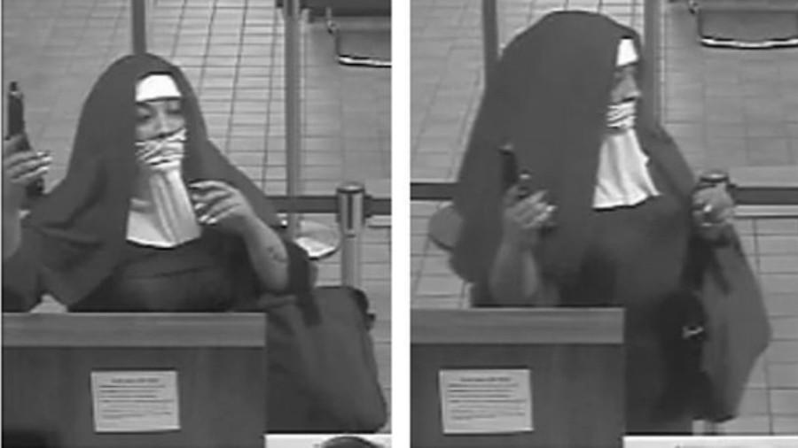 FBI busca a 2 'monjas' que asaltaron un banco