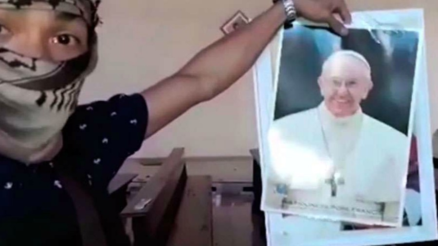 El Estado Islámico amenazó al papa Francisco en un video