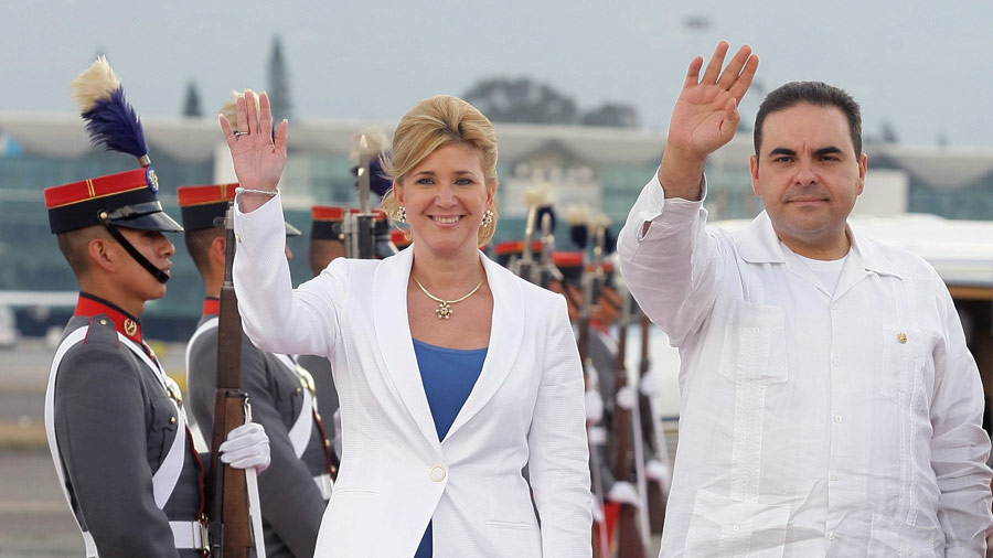 Antonio Saca y Ligia Saca