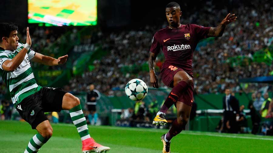 Barcelona ganó de carambola en Portugal