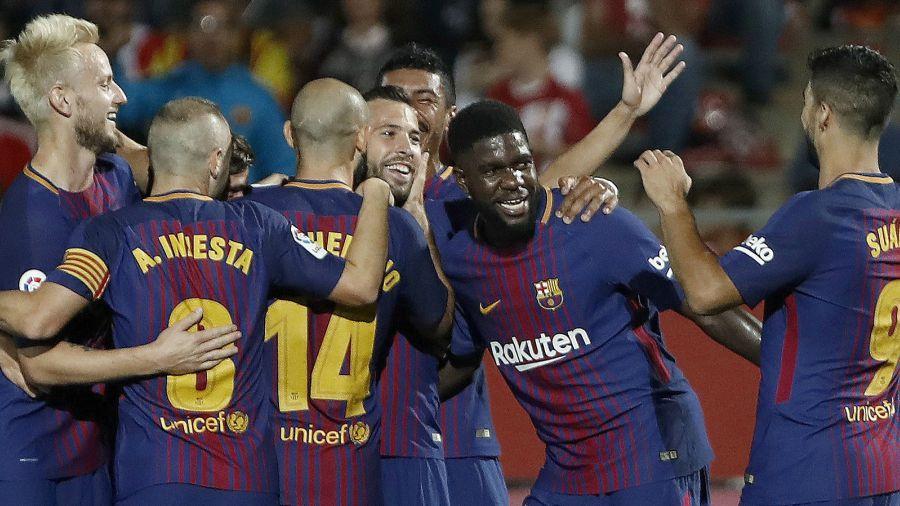 Barcelona-Girona, un partido histórico