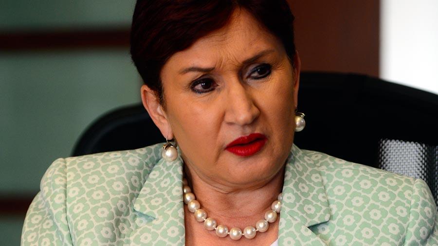 Fiscalía pide reserva de caso de Thelma Aldana
