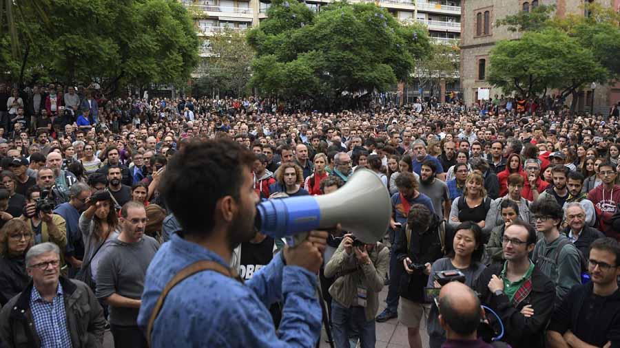 España Cataluña Referendo