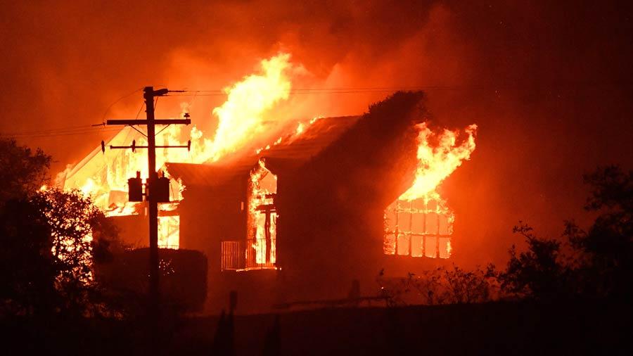 Resultado de imagen para incendio en california