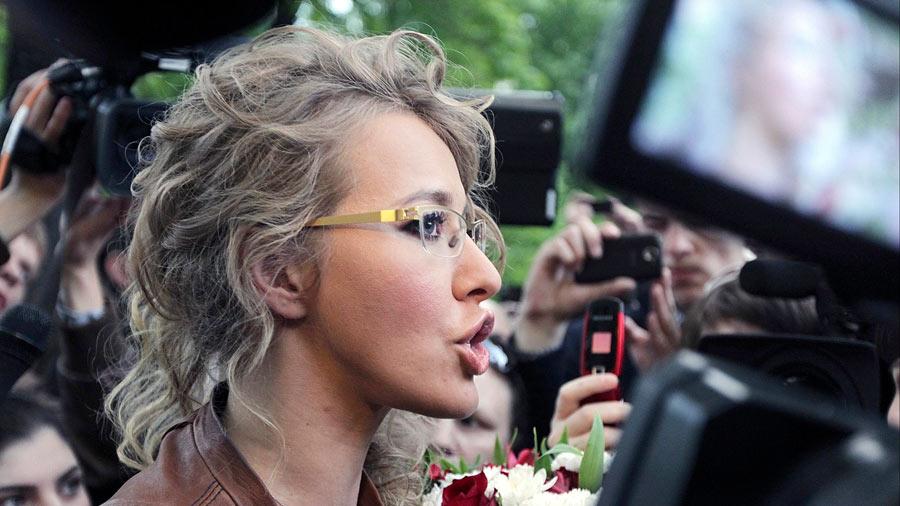 Llaman a Ksenia Sobchak