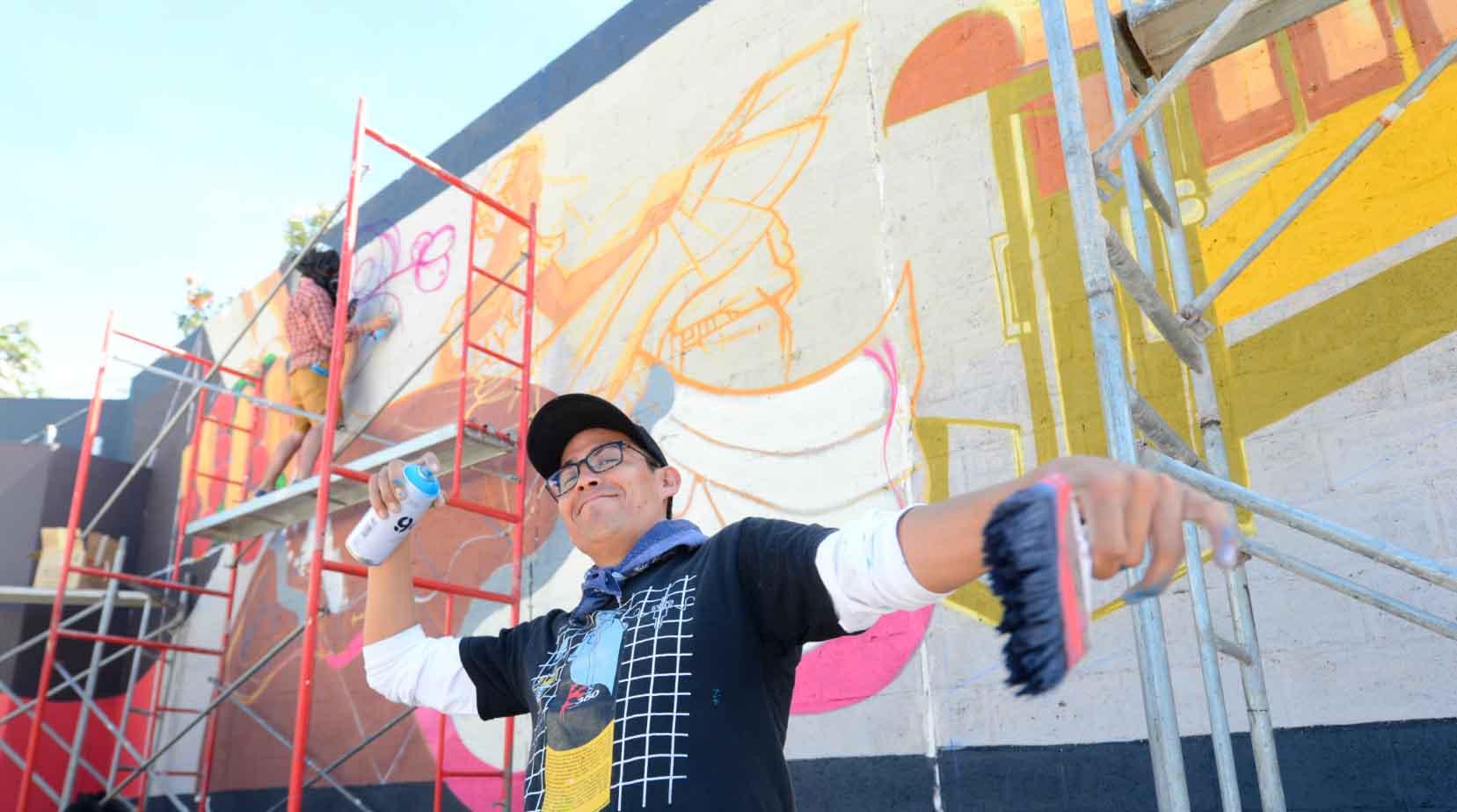 Jovenes Teclenos Plasman En Mural Sus Suenos Elsalvador Com