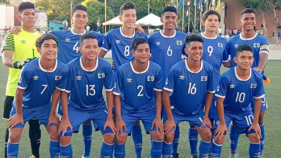 Sub-16: Campeonato Centroamericano - El Salvador 2017. Sub-16-seleccio%CC%81n-El-Salvador