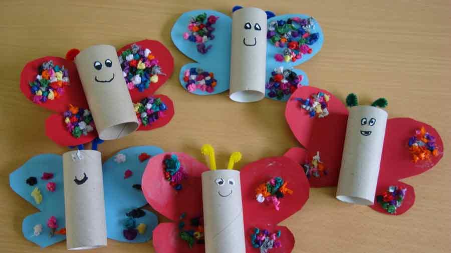 Tres manualidades que puedes hacer con rollos de papel higinico