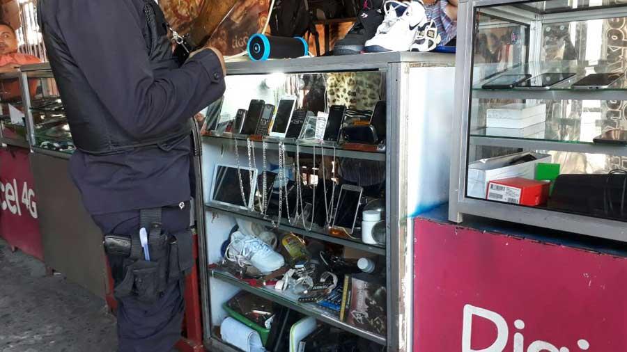 Operativo en Centro de San Salvador
