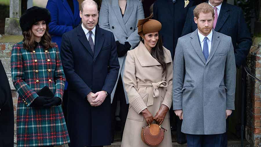 Meghan Markle y Kate Middleton causan sensación con su look en la ... fffc47fadad