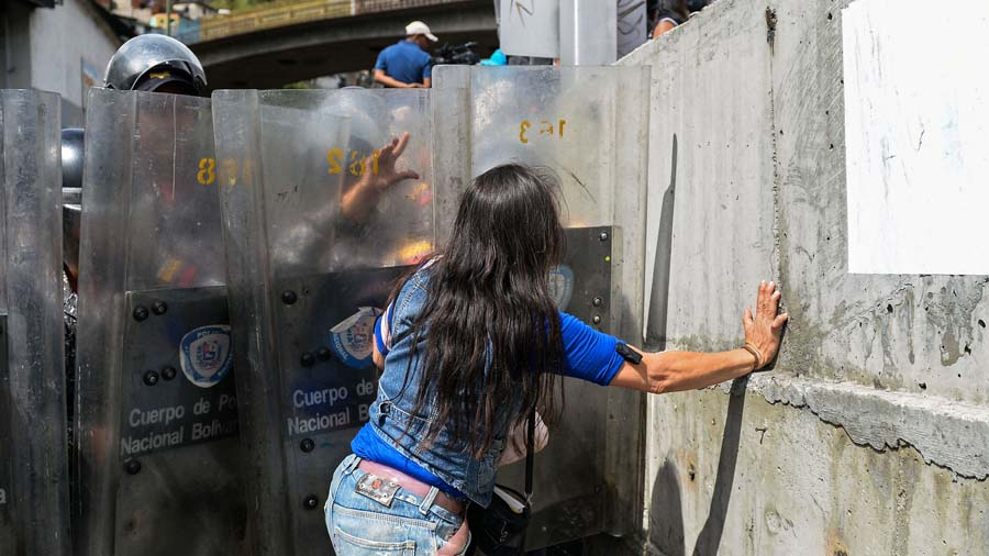 VENEZUELA-CRISIS-FOOD-SHORTAGE-PROTEST