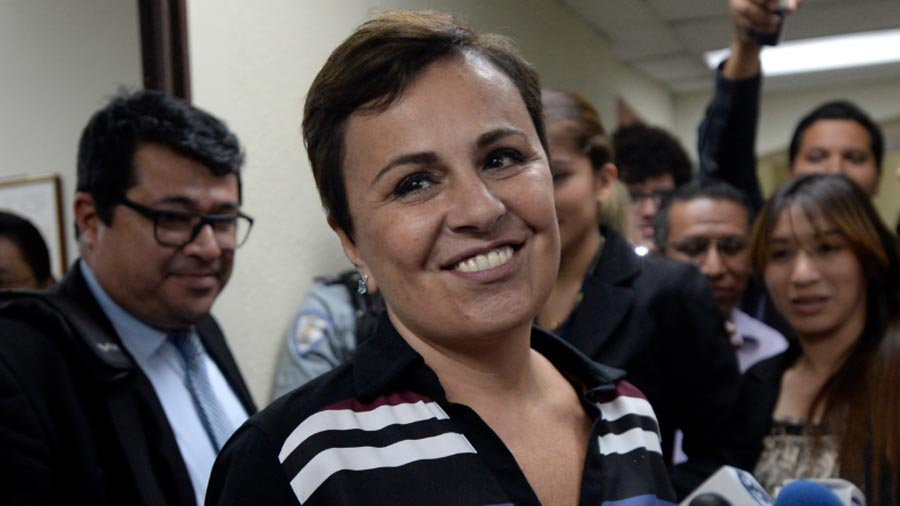 Piden declarar ilegal arresto de Vanda Pignato
