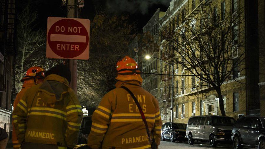 Incendio en barrio deja al menos 12 muertos